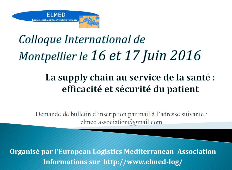 Colloque Supply Chain