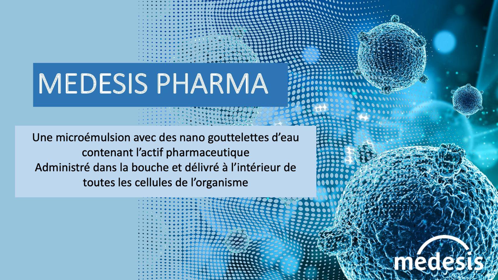 Medesis Pharma développe un futur médicament pour la prévention et le traitement des formes graves du COVID-19 : le NanoManganese®